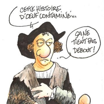 Christophe Colomb affirmatif