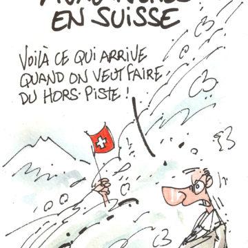 Alerte aux avalanches en Suisse