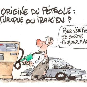 Origine du pétrole: turque ou irakien?