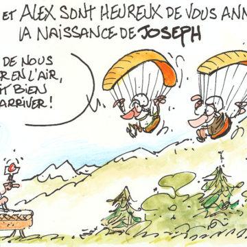 Aline, Alain & Joseph