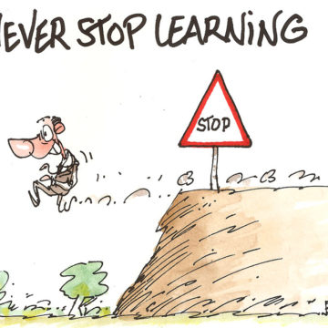 Never stop learning novembre 2017
