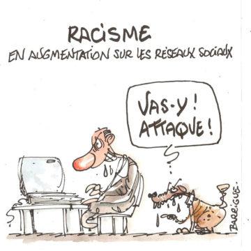 Racisme sur les réseaux sociaux