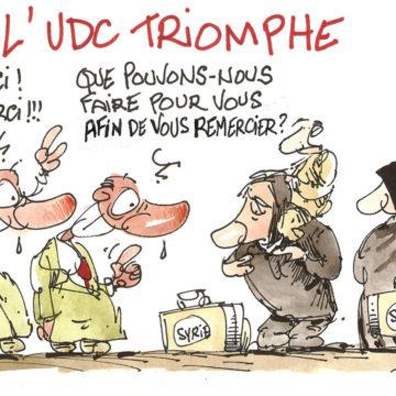 L'UDC triomphe