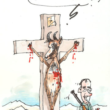 Je suis mort sur la croix pour sauver Darbellay
