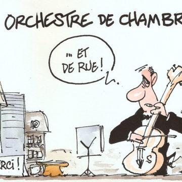 Orchestre de chambre… et de rue