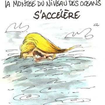 Réchauffement climatique: Trump et la montée du niveau des océans