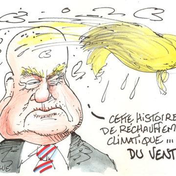 Réchauffement climatique: Trump et le vent!